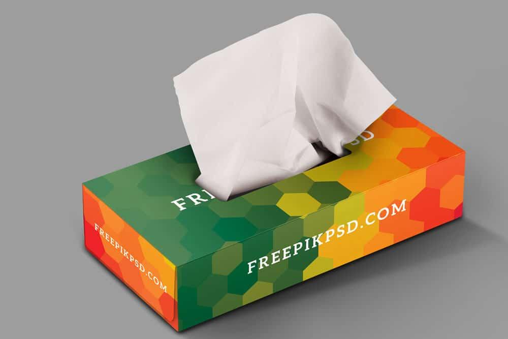 Download Download This Free Tissue Box PSD Mockup - Desinghooks