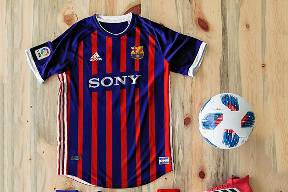 Download Download This Free Football Kit Mockup in PSD - Designhooks