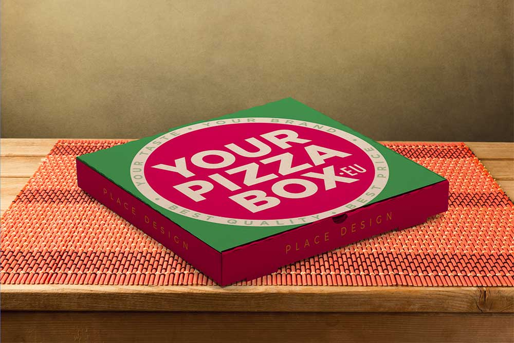Download Download This Free Pizza Box Packaging Mockup In PSD ...
