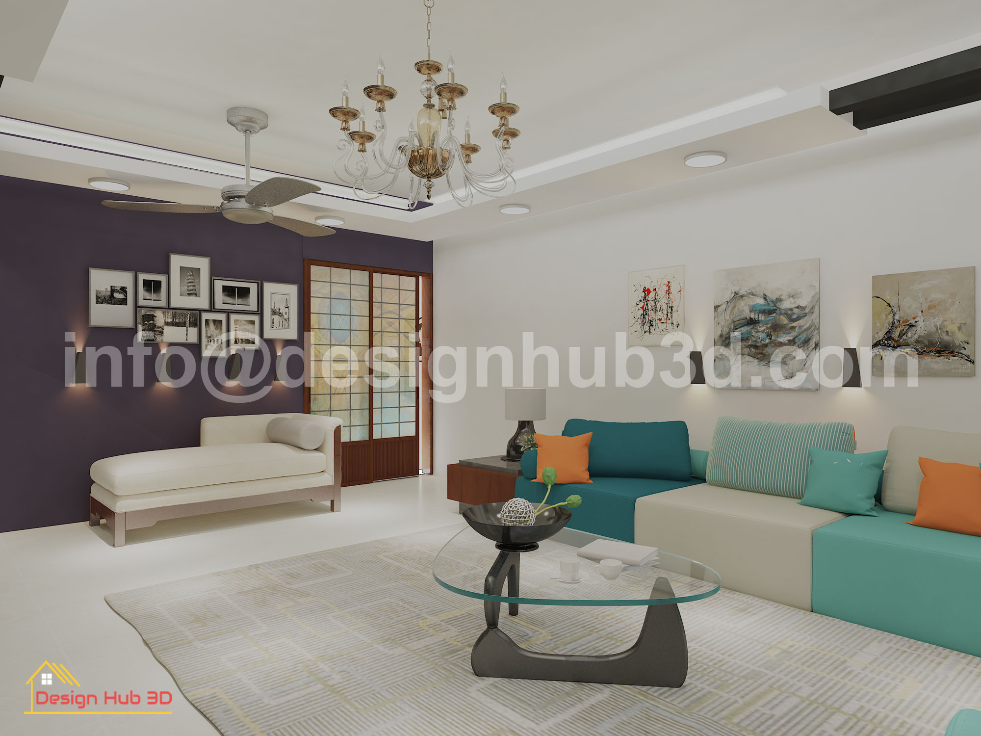 Designhub3d-home decor, drawing interior, living room,interior design