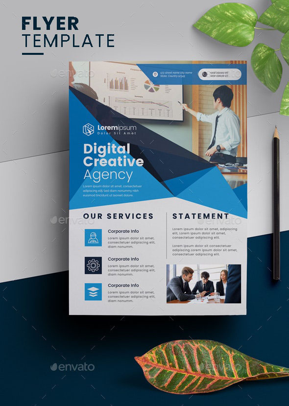 Promote YourCorporate Flyer Design 2020