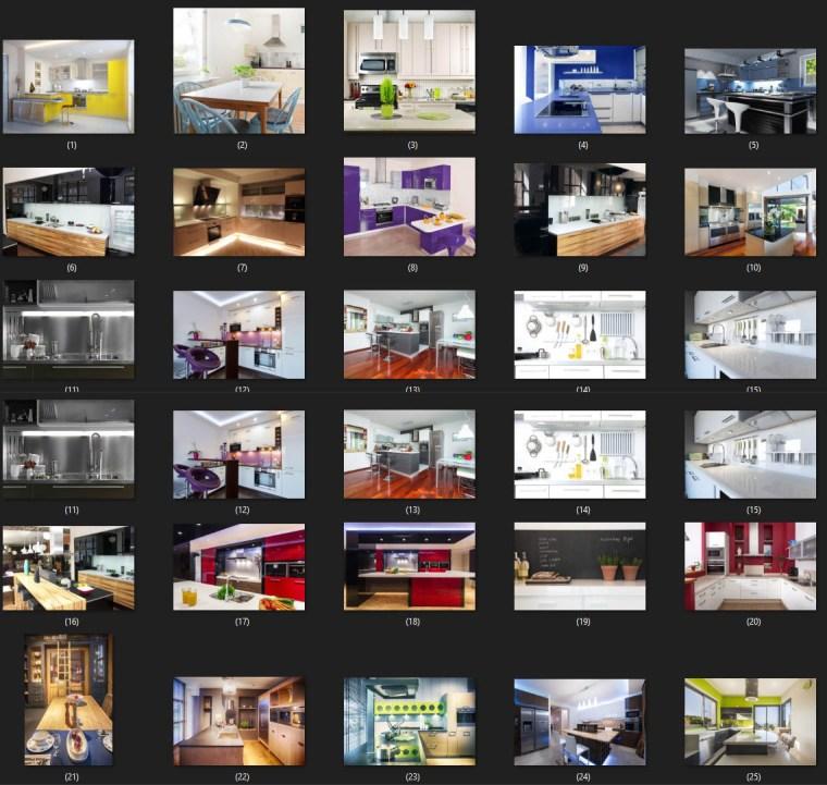 25 Modern Kitchens Photo Stock Free Download