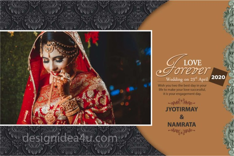 DM Wedding PSD Template Free Download