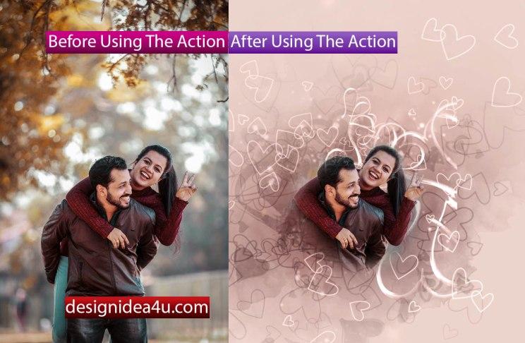 Free Photoshop Action