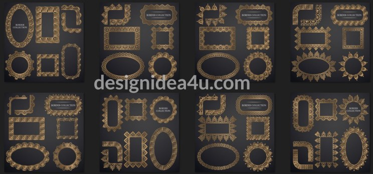 Ornamental Frame Vector - Decorative Frames And Borders
