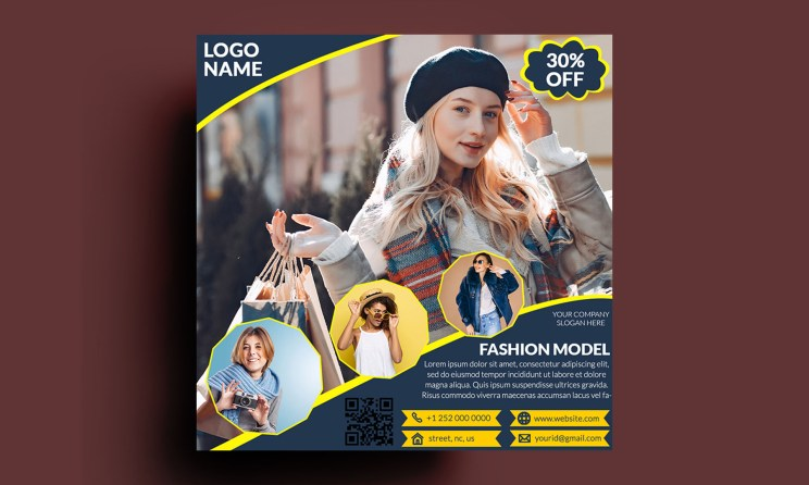 Fashion Sale Social Media Post PSD Template Free Download