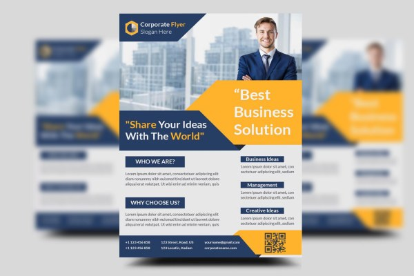 Multipurpose Professional Corporate Business Flyer Template