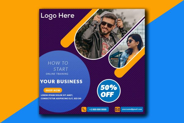 Social Media Post Design Templates Free PSD