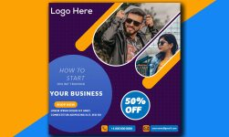 Social Media Post Design Templates Free PSD
