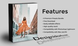 Camera Raw Presets Bundle - 6 Premium Presets Bundle