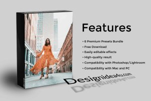 Camera Raw Presets Bundle - 6 Premium Presets Bundle