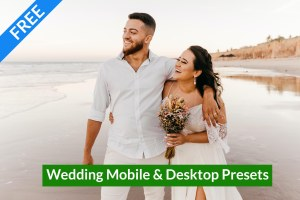 Download Wedding Mobile & Desktop Lightroom Presets