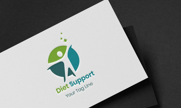 Healthy Diet Logo Design Vector Free Download