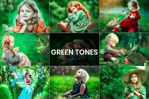 Top 6 Green Tones Free Camera Raw Presets | Lightroom Presets