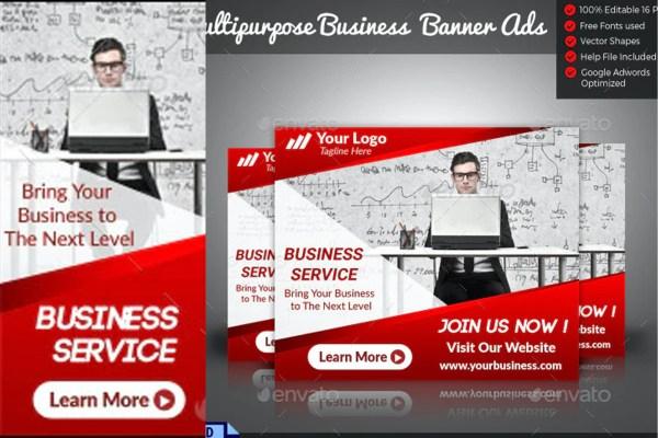 Free Business Banner Ads Templates | Design Idea 4u