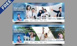 Photo Display Facebook Timeline Cover PSD Template