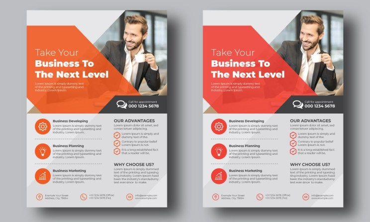 Print Ready Multipurpose Corporate Business Flyer Template