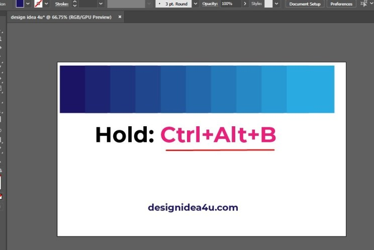 How to create color combinations in Illustrator