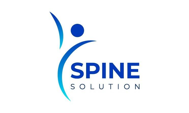 Spine surgeon logo design vector free download