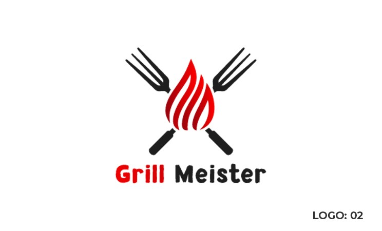 flame grill logo
