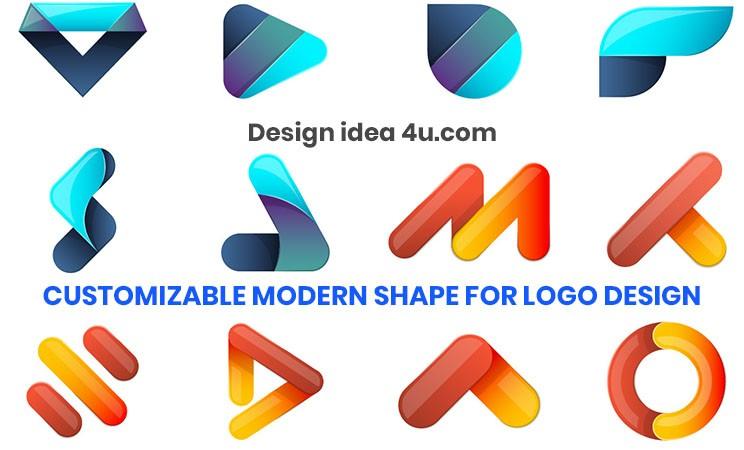 Customizable Modern Shape