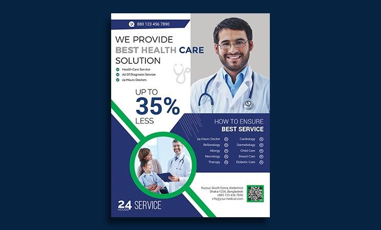 doctor flyer design