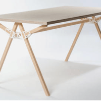 The Grand Prize of the Interieur Awards 2014 goes to table with a single 3D printed connector