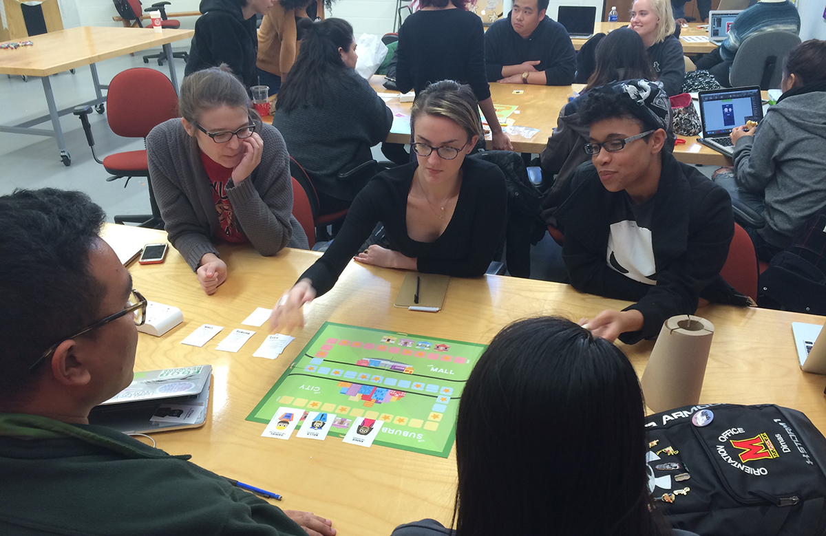 Not Just Playing Around: Game Design In The Interaction Design Classroom