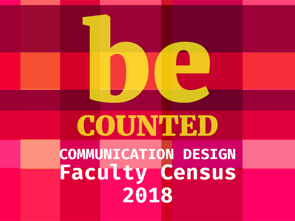 Communication Design Faculty Census 2018