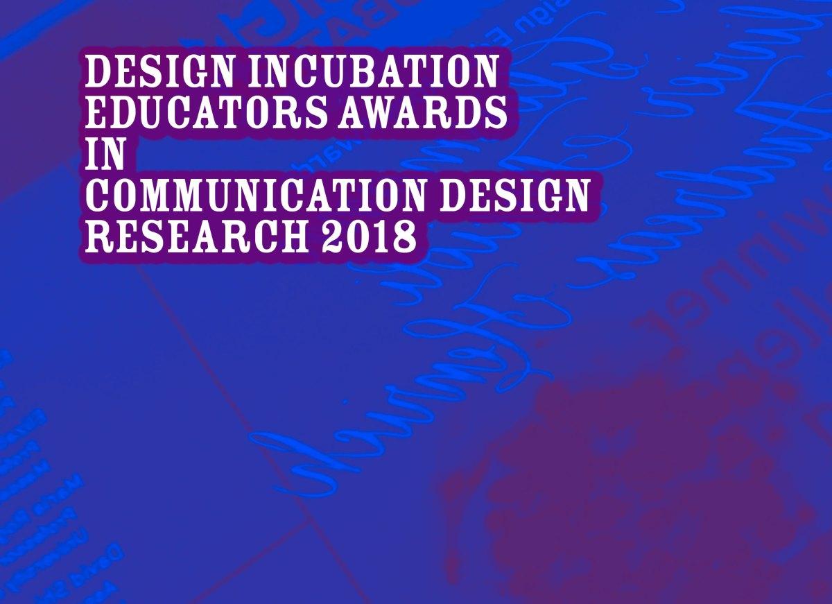 Announcement: Educators Communication Design Awards 2018