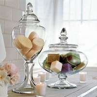 Tuesday's Tips: Apothecary Jars as Chic Storage 4 Kitch, Bath & Laundry Rooms...