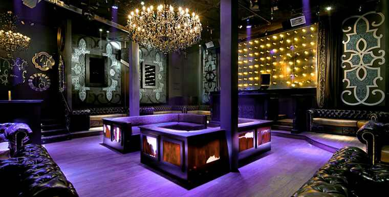 A Sexy Nightclub Design Design Indulgences