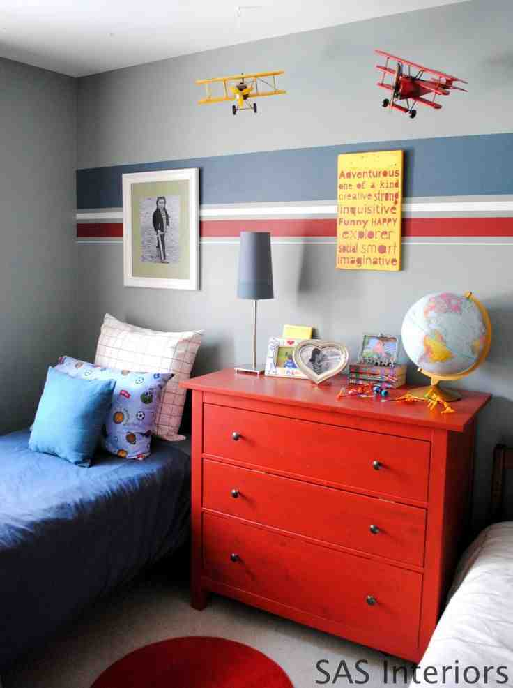 Tiny Tot Thursday Striped Walls And Ceilings Design