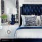 Master bedroom navy blue  Patricia Reid triciafiveoh on Pinterest