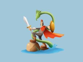 Knight&Snake