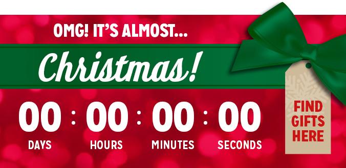 K-Mart Countdown Clock Banner