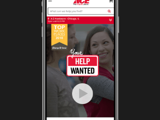 Ace Hardware Careers Webpage