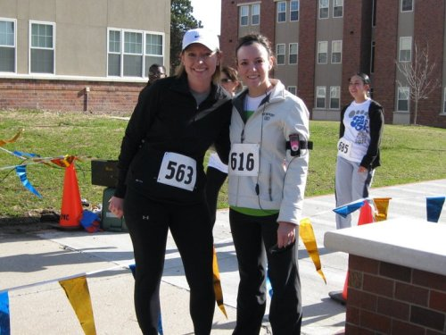 Lacey and Dania - First Ever 5k Race