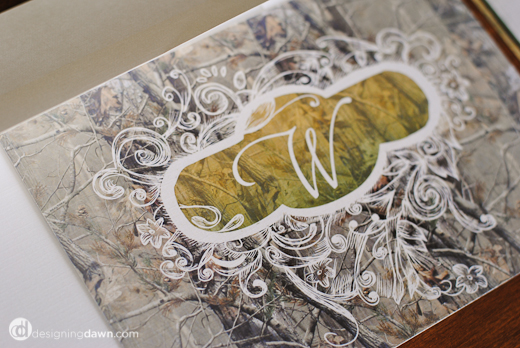 The Hunt Is Over Camo Wedding Invitations Collection