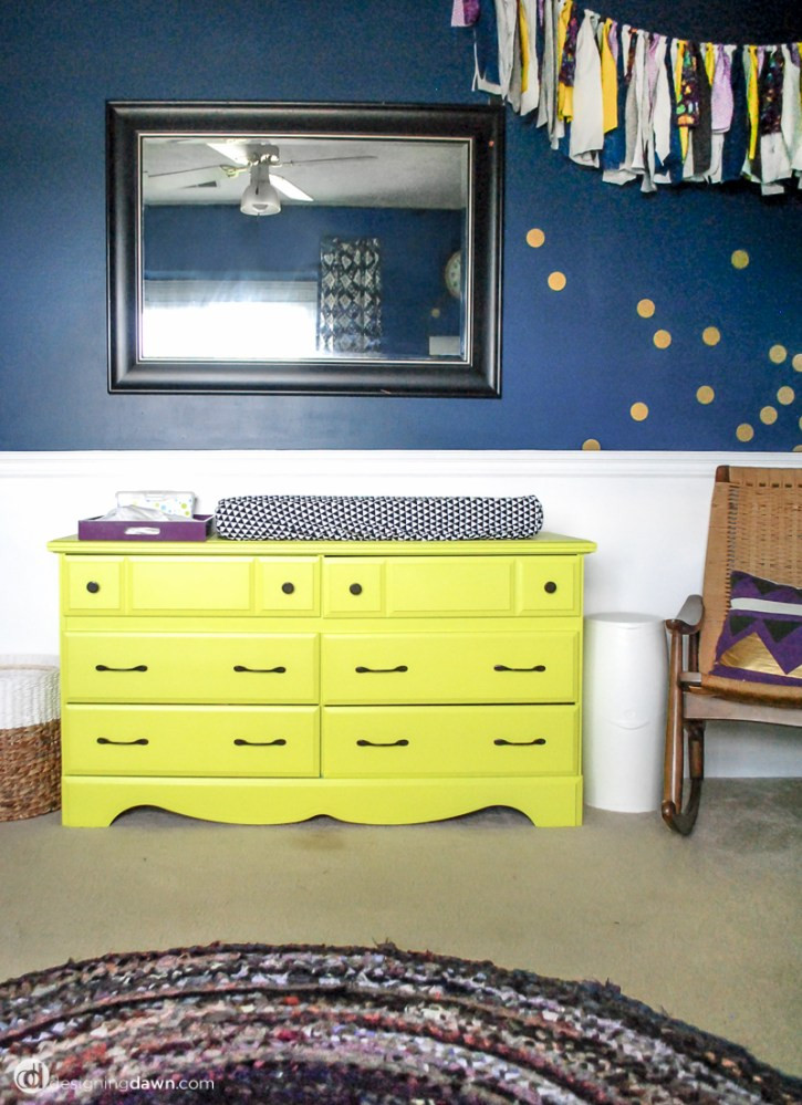 Designing Dawn - Juniper's Bold & Bright Nursery
