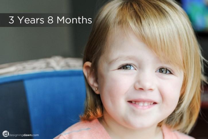 vera months 3yr 8