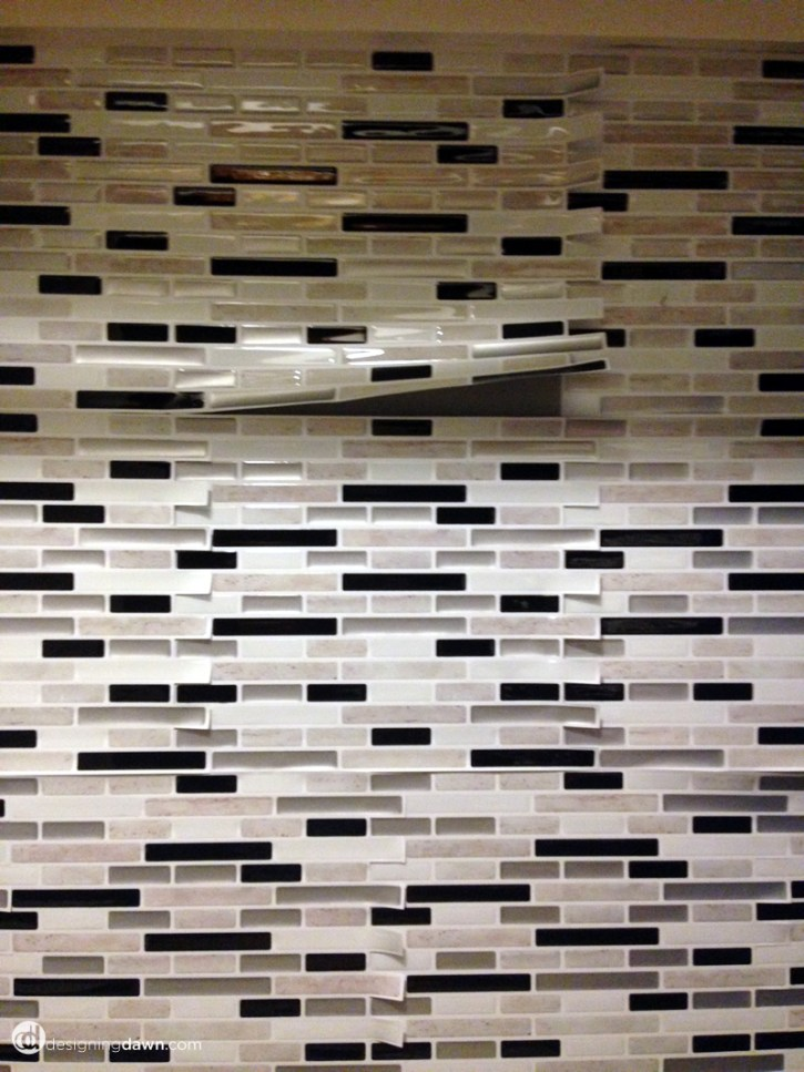 laundry room tile - Designing Dawn