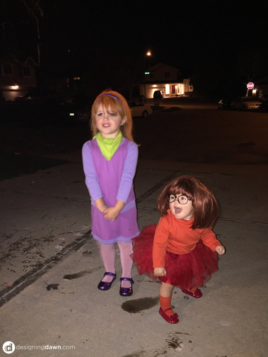DIY Scooby Doo Halloween Costumes DesigningDawn.com