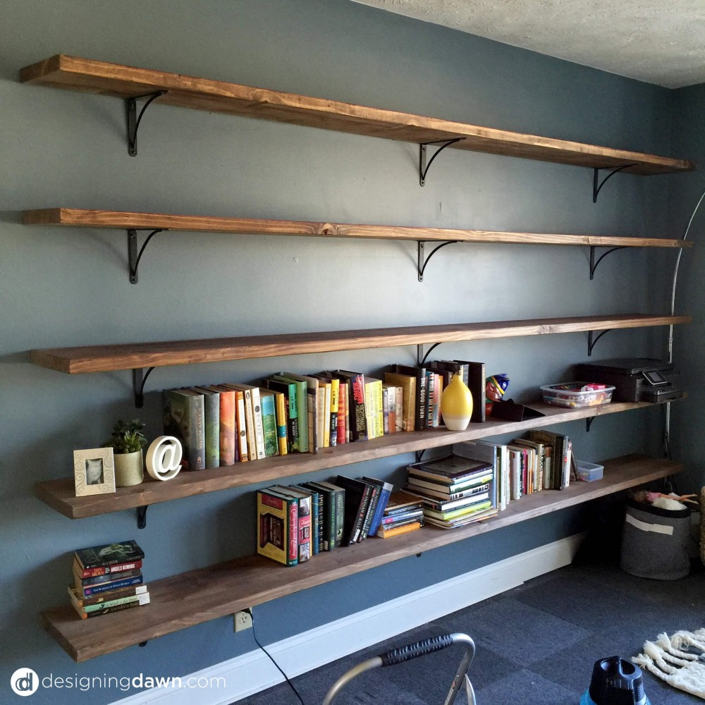 Dawn's House: DIY Library Shelving • AD Aesthetic