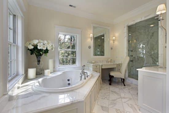 25 White Bathroom Ideas (Design Pictures) - Designing Idea on White Bathroom Design Ideas  id=63956