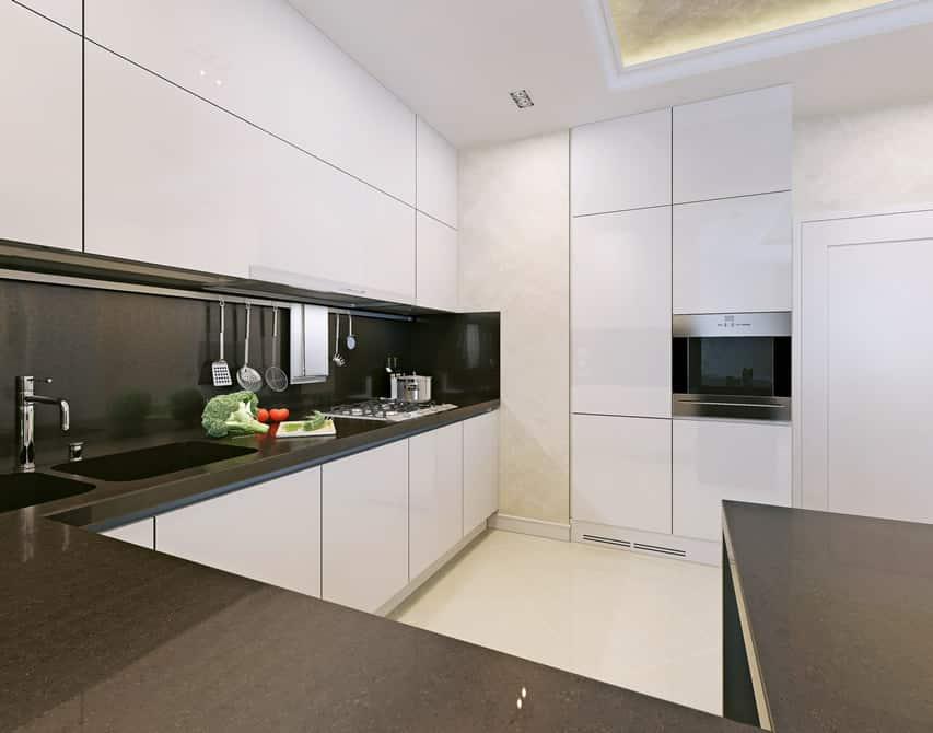 Small Dark Kitchen Design Ideas