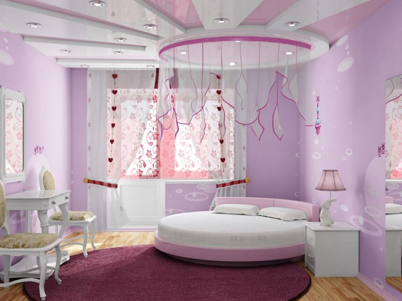 27 Beautiful Girls Bedroom Ideas - Designing Idea on Beautiful Room Design For Girl  id=64929