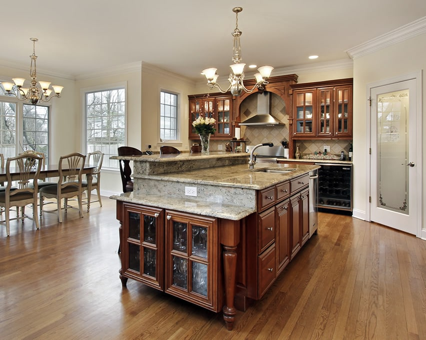 Luxury Kitchen Island Designs