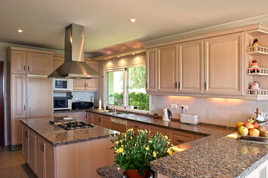 L Shaped Kitchen Designs Island Pictures