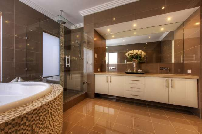 Shower Designs Bathroom Contemporary With Ceiling Lighting Earth Tone